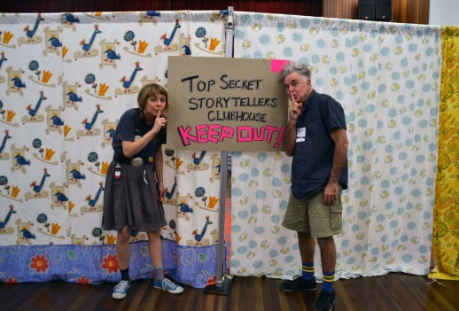The Top Secret Storyteller's Clubhouse
