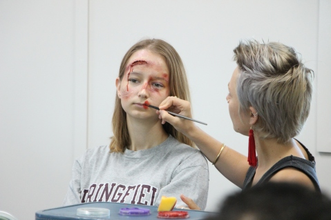 FACE/BODY PAINTING & SFX WORKSHOPS – Caitlin Strongarm